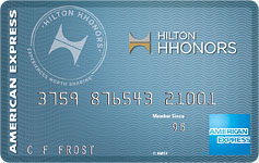hilton american express credit card
